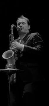 Role am Saxophon